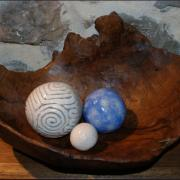 Petites boules colorées