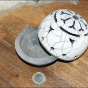 Brule encens boule raku