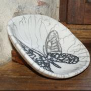 Coupe raku papillon 1