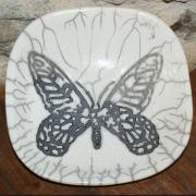 Coupe raku papillon