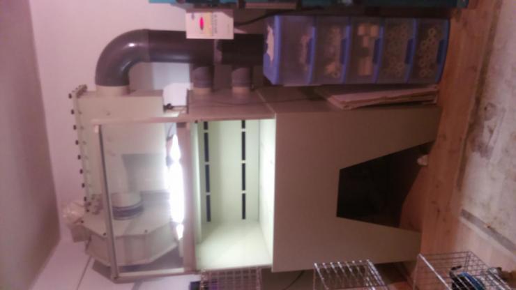 cabine d'émaillage 1