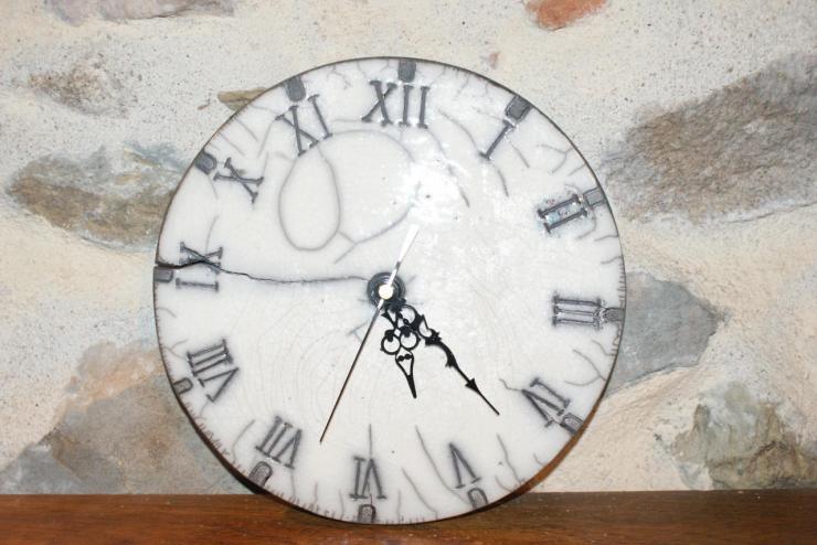 Horloge chiffres romains