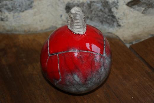Boite rouge Raku